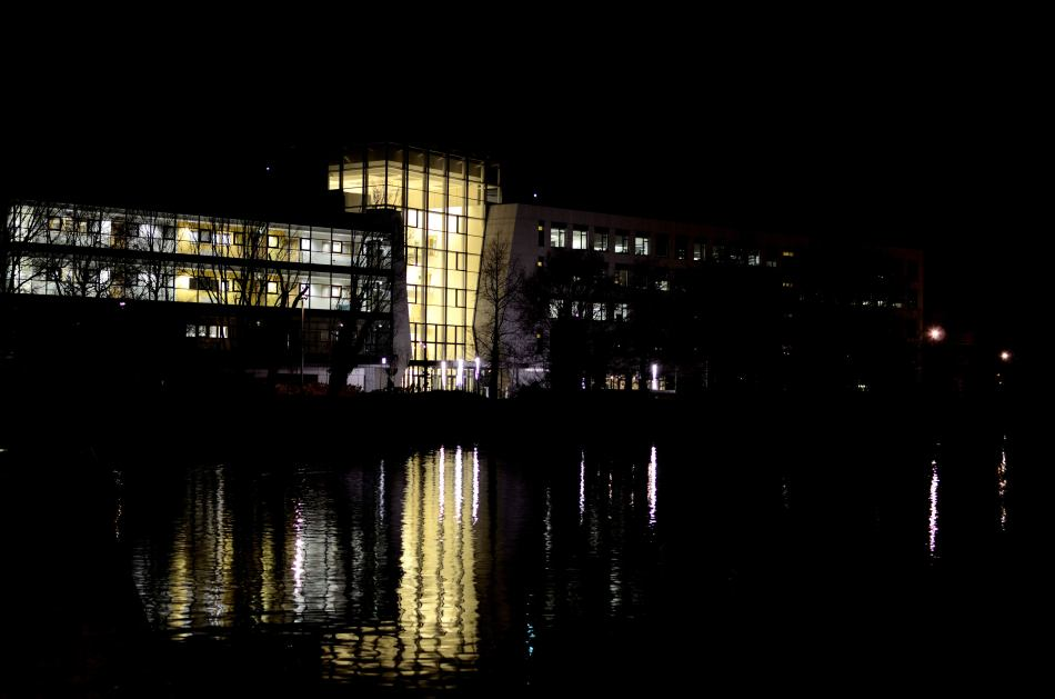 UCD at night1